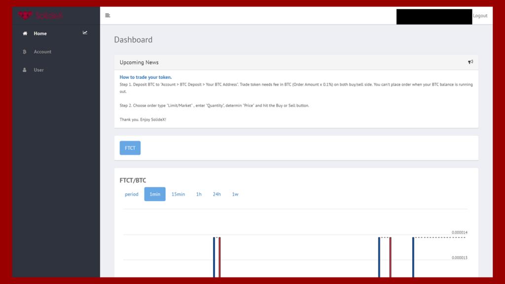 SolideX(ソリデックス)の口座開設完了